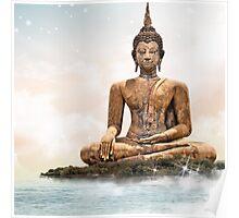 Buddha Leggings Poster