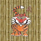 chinese tiger by cuprum