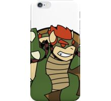 Smash Brothers Green Bowser iPhone Case/Skin