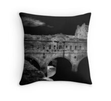 The Bridge or Someplace Later Throw Pillow