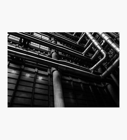 Industrial Pipes Photographic Print