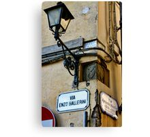 Street Signs Canvas Print