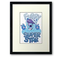 FURRY SUPERSTAR - color Framed Print