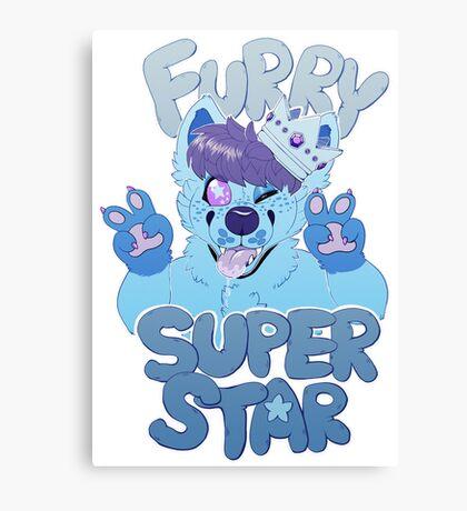 FURRY SUPERSTAR - color Canvas Print