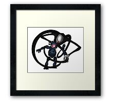 The Child Inside Framed Print