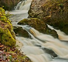 Beezley and Triple Spout Falls by Stephen Knowles