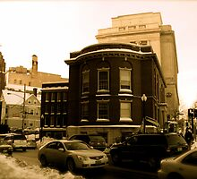 """The Masonic Temple (known locally as the """"Mason Building"""") by Jack McCabe"""