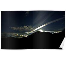 Saltire sky Poster