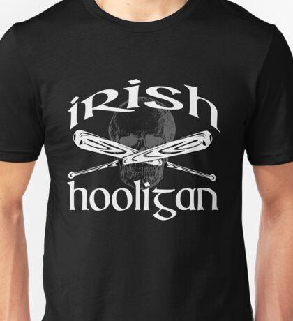 irish hooligan skull baseball Unisex T-Shirt