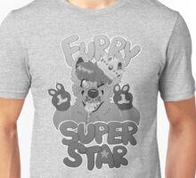 FURRY SUPERSTAR - grayscale Unisex T-Shirt