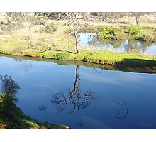 Still beautiful in Reflection - Werribee River. Vic. Photographic Print