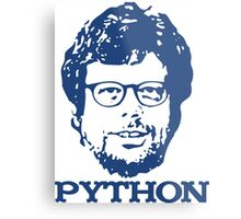 Guido + Python Metal Print