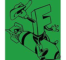 F-Bomb Funny Geek Nerd Photographic Print