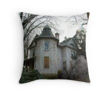 Ms. Marple's Mansion Throw Pillow