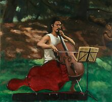 Cellist by Christopher Wilson