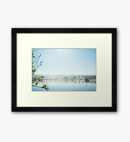 Vindelälven Framed Print