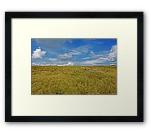 Cow on the Horizon  Framed Print