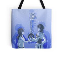 Kingdom Hearts Keyblade Masters Kairi Aqua Tote Bag