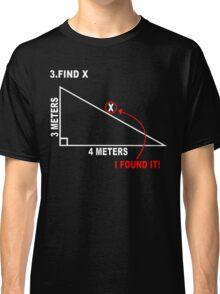 Find x Funny Geek Nerd Classic T-Shirt