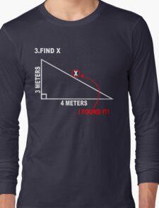 Find x Funny Geek Nerd Long Sleeve T-Shirt