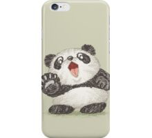 Surprized Panda iPhone Case/Skin