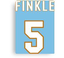 Finkle Funny Geek Nerd Canvas Print