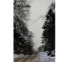 View from Forest Hill Toronto Ontario Canada.. Photographic Print