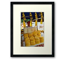 Honey and Cheese Framed Print