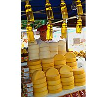 Honey and Cheese Photographic Print