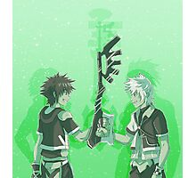 Kingdom Hearts Keyblade Masters Sora Ventus Photographic Print