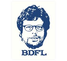 Guido + BDFL Art Print
