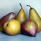 Pears Cinco by DiEtte Henderson