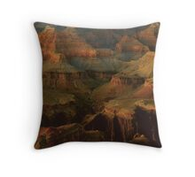 Temples In Late Day Sunlight Throw Pillow