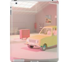 Yellow Automobile iPad Case/Skin