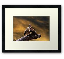 Evenings End! Framed Print