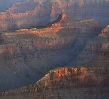 Late Day Reflections, Grand Canyon by Stephen Vecchiotti