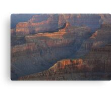 Late Day Reflections, Grand Canyon Canvas Print
