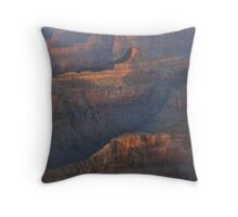 Late Day Reflections, Grand Canyon Throw Pillow