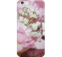 Freesia & Gypsophila Bouquet iPhone Case/Skin