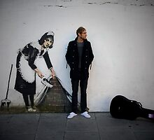 banksy by Tony Day