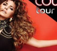 Shania Rock This Country Tour 2015 Sticker