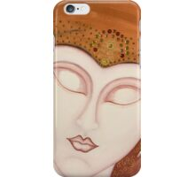 Tanafriti Restful Egyptian Lady In Traditional Headdress iPhone Case/Skin