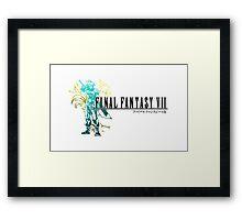 FF7 Framed Print