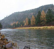 Blackfoot River by tdooley