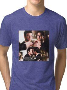 Glee: Klaine Wedding Tri-blend T-Shirt