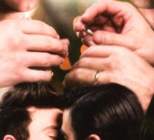 Glee: Klaine Wedding Sticker