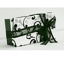 box and bow Photographic Print