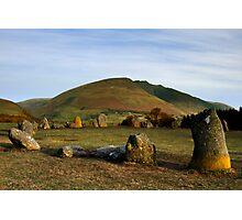 Blencathra from Castlerigg Stone Circle Photographic Print