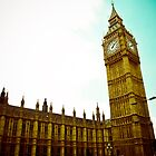 Big Ben by Jorge Quinteros