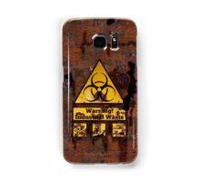 Warning - Industrial Waste! Biohazard! Samsung Galaxy Case/Skin